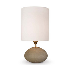 Concrete Orb Table Lamp