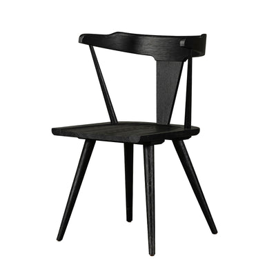 Ripley Dining Chair - Black Oak