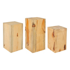 Totem Stumps - Square Natural