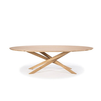 Oak Mikado Coffee Table - Oval