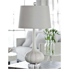 Regina Andrew Milano Snow Glass Table Lamp