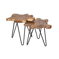 Riverside Hairpin Nesting Tables