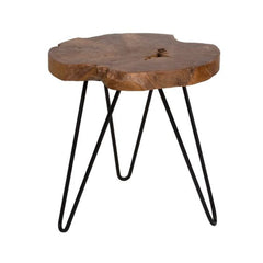 Riverside Hairpin Round Side Table