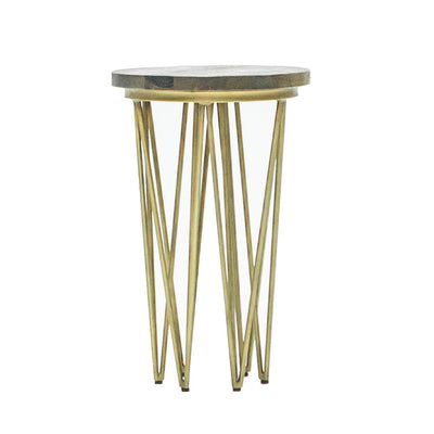 Brandy Round Side Table