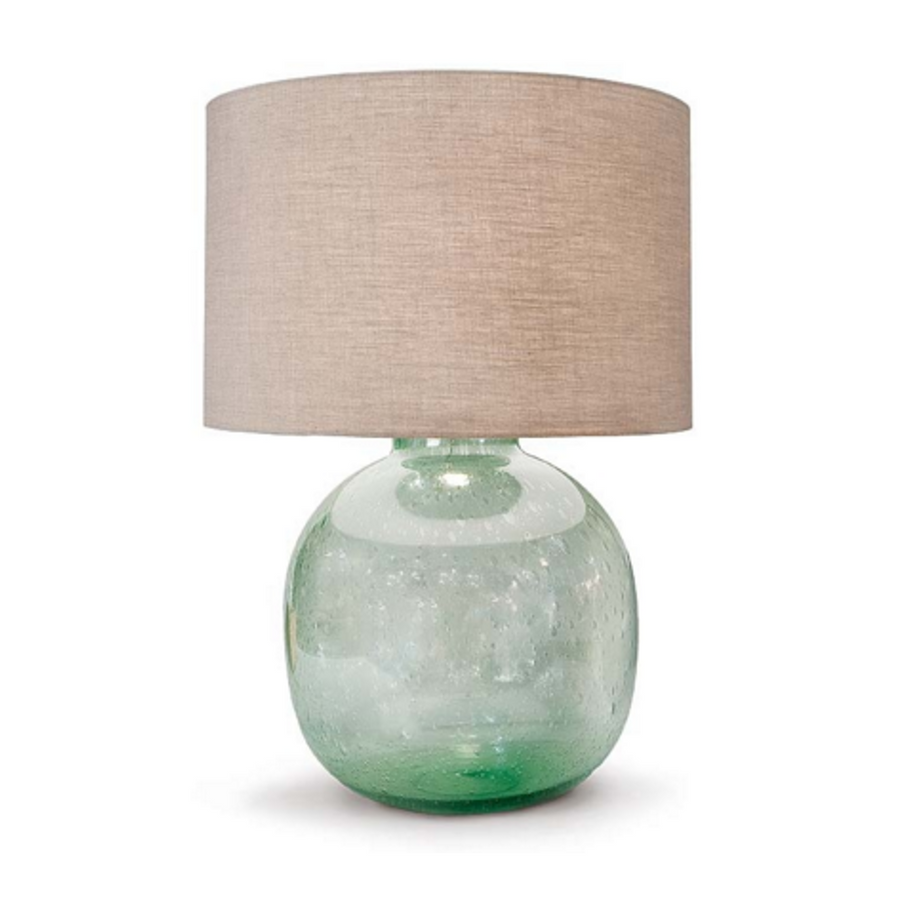 Seeded Recycled Glass Table Lamp (3867564229)
