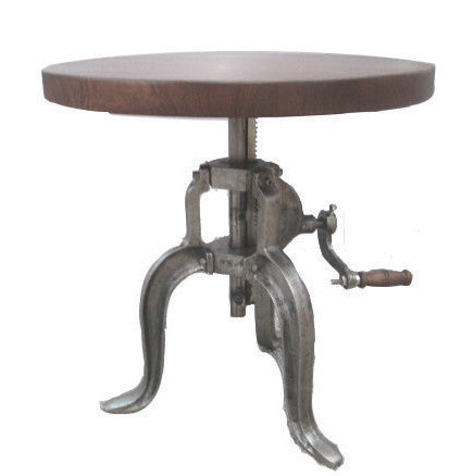 Sitka Crank Side Table
