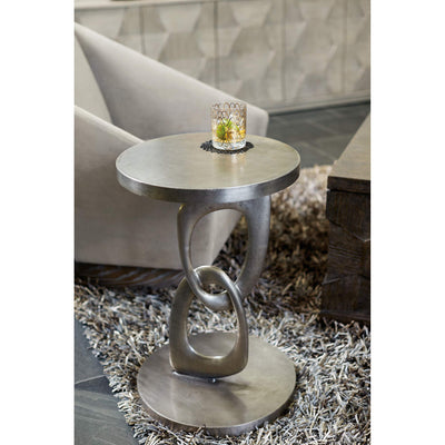 Linea Link Round Chairside Table