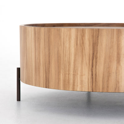 Lunas Drum Coffee Table