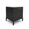 Hemrik 2 Drawer Nightstand