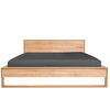 Oak II Nordic Bed - King