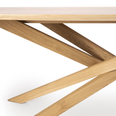 Oak Mikado Dining Table - Oval