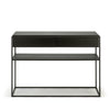 Black Oak Monolit Console Table