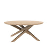 Oak Mikado Coffee Table - Round