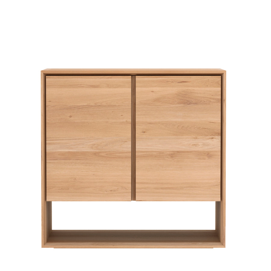 Oak Nordic 2 Door Sideboard