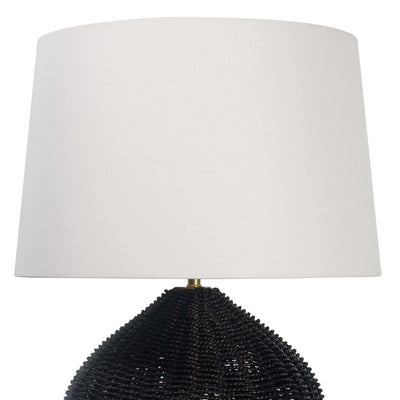 Georgian Table Lamp - Black