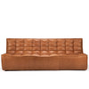 Jacques - Leather 3 Seater - Old Saddle {N701}