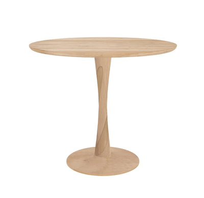 Torsion Oak Dining Table - Medium