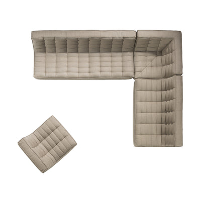 Jacques - 3 Seater - Beige  {N701}