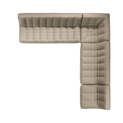 Jacques - 2 Seater - Beige  {N701}