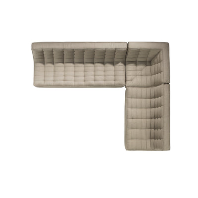 Jacques - Rounded Corner Seat - Beige  {N701}