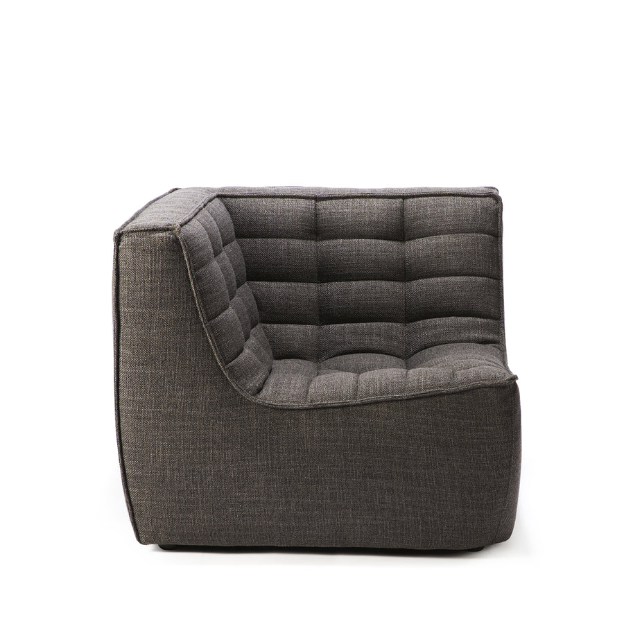 Jacques - Corner Seat - Dark Grey  {N701}