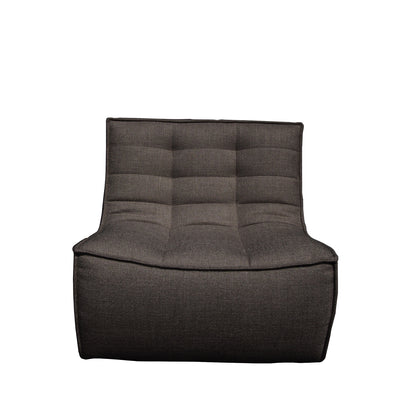 Jacques - 1 Seater - Dark Grey {N701}