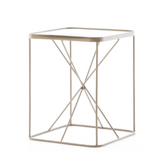 Spoke End Table