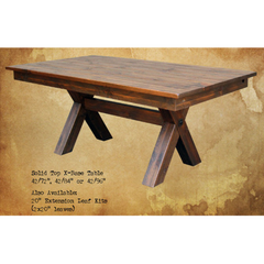 Summerland Valley X-Base Dining Table
