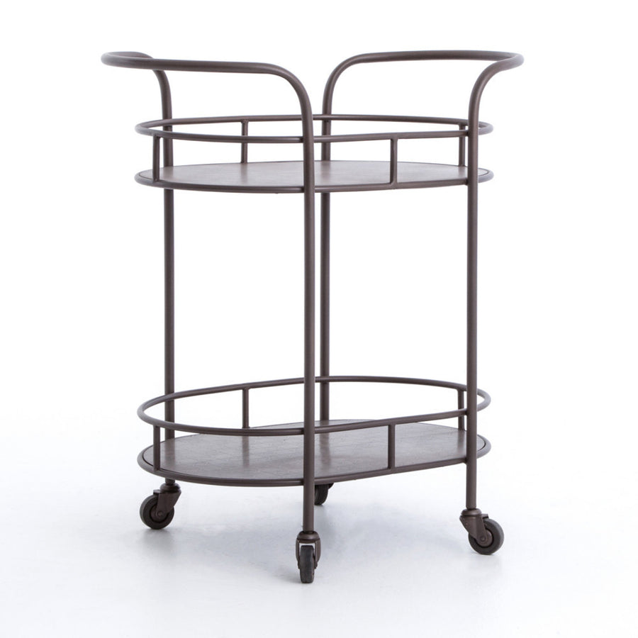 Talum Oval Bar Cart