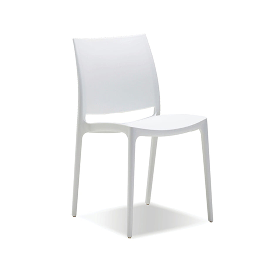 Tava Outdoor Dining Chair - White
