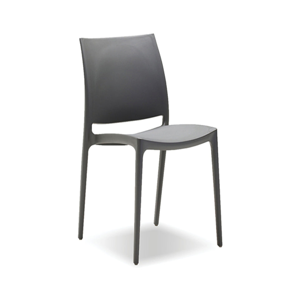 Tava Outdoor Dining Chair - Grey