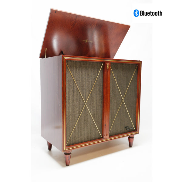 The Vintedge Co™ - ZENITH High Fidelity Stereo Console Record Player Changer - Bluetooth