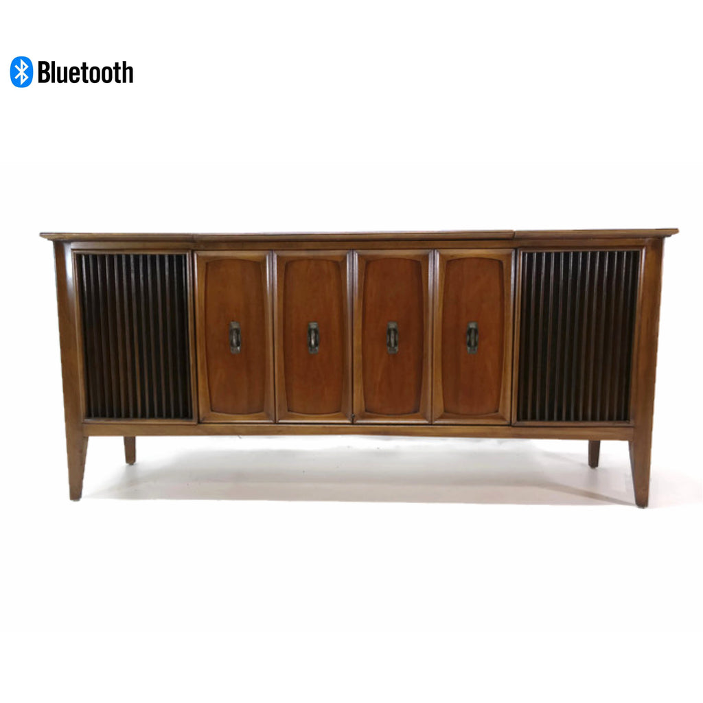 The Vintedge Co™ - ZENITH Mid Century Record Player Changer Stereo Console