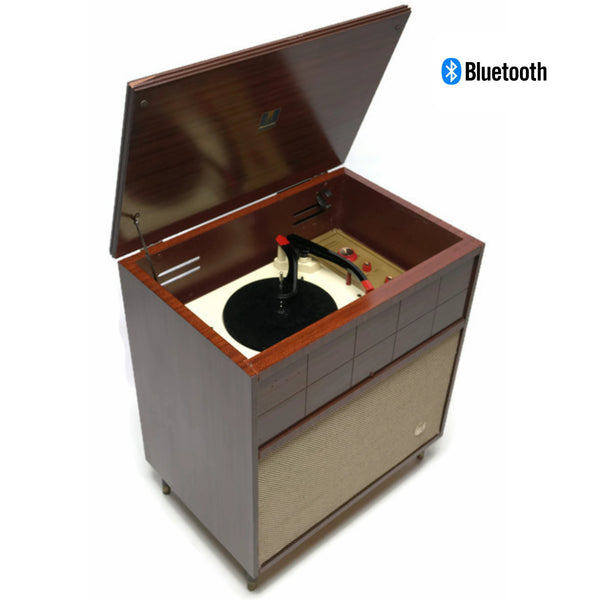 The Vintedge Co™ - EMERSON Mid Century Vintage Mono Speaker AM Radio Record Player Changer