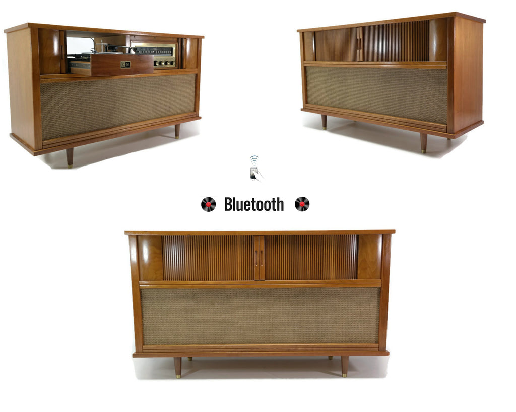 The Vintedge Co™ - CURTIS MATHES 50s 60s Mid Century Record Player Changer Stereo Console