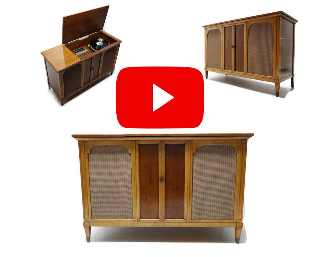 The Vintedge Co™ - ZENITH Vintage Record Changer Player Stereo Console