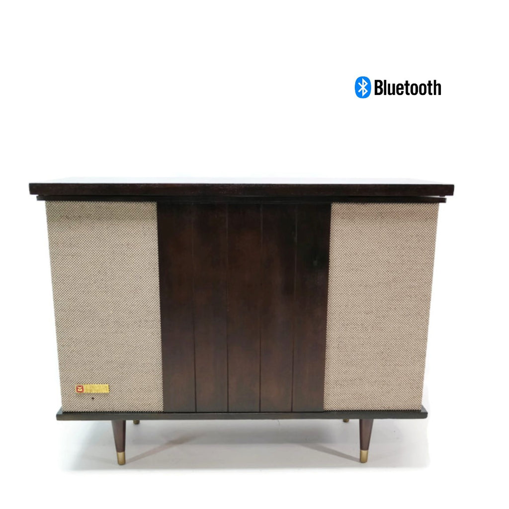 The Vintedge Co™ - VOICE of MUSIC 60's Record Player Changer Stereo Console