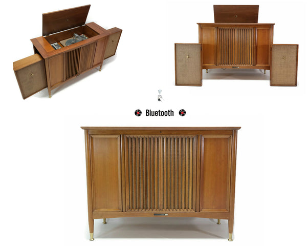 The Vintedge Co™ - 60's RCA 3-CHANNEL Vintage Record Player Changer Stereo Console