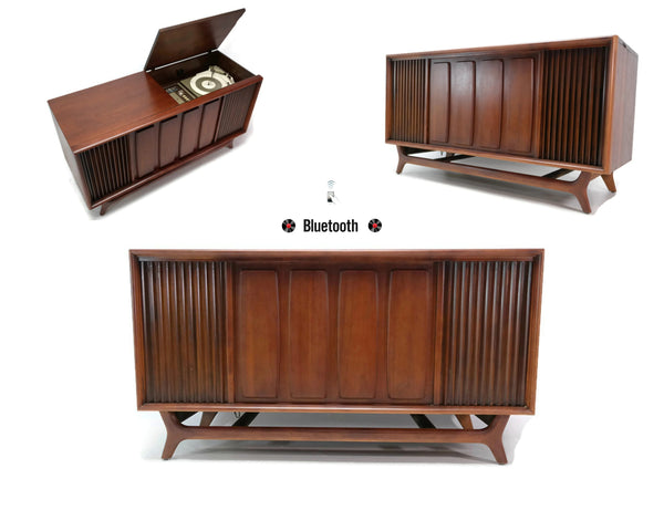 The Vintedge Co™ - 60's PACKARD BELL Mid Century Record Player Changer Stereo Console