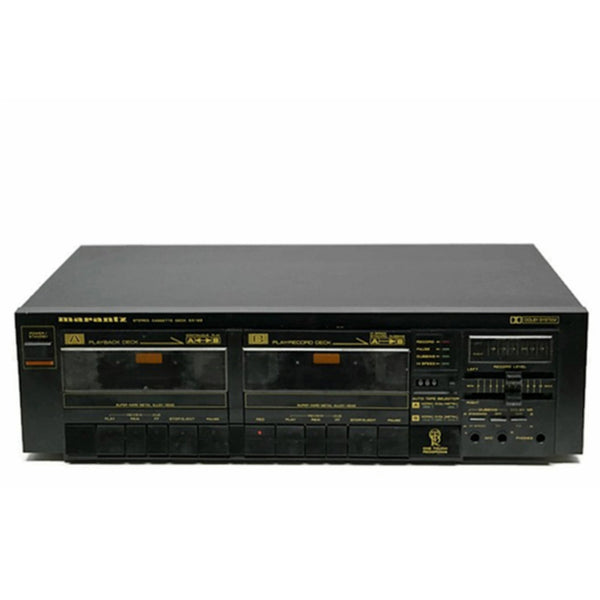 The Vintedge Co™ - MARANTZ Dual Deck Cassette Player & Recorder