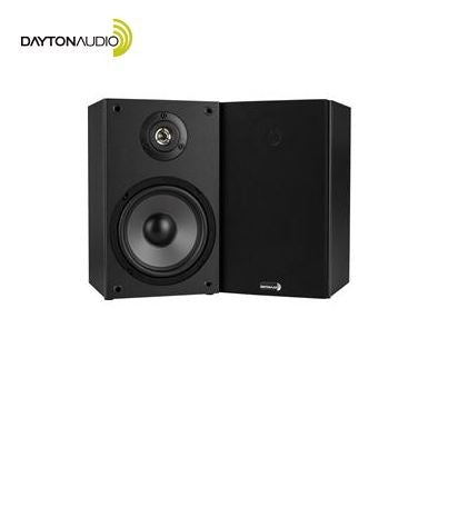 **SOLD OUT** DAYTON AUDIO™ 2-Way Bookshelf Speaker Pair - Black