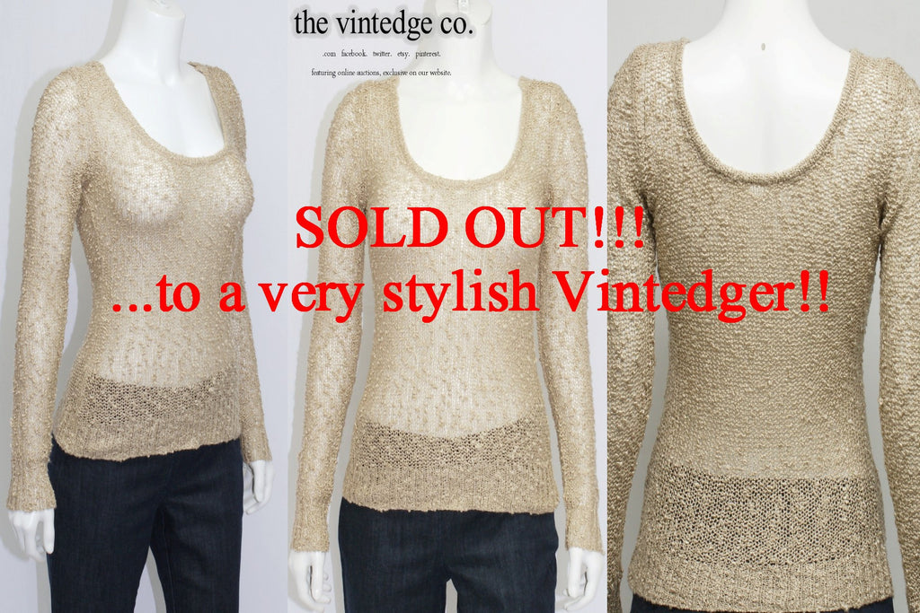 SOLD - Vintage Sweater