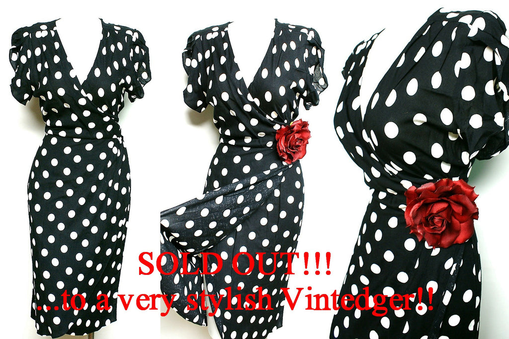 SOLD - Retro 40s Dress