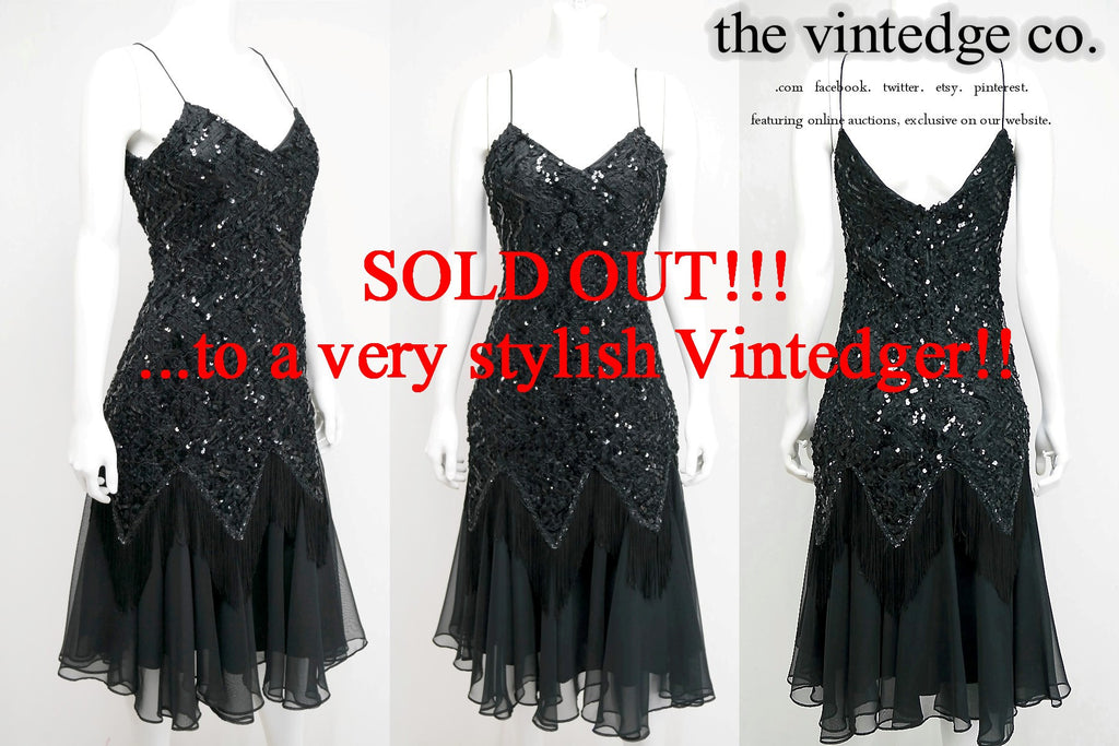 SOLD - Vintage Flapper Dress