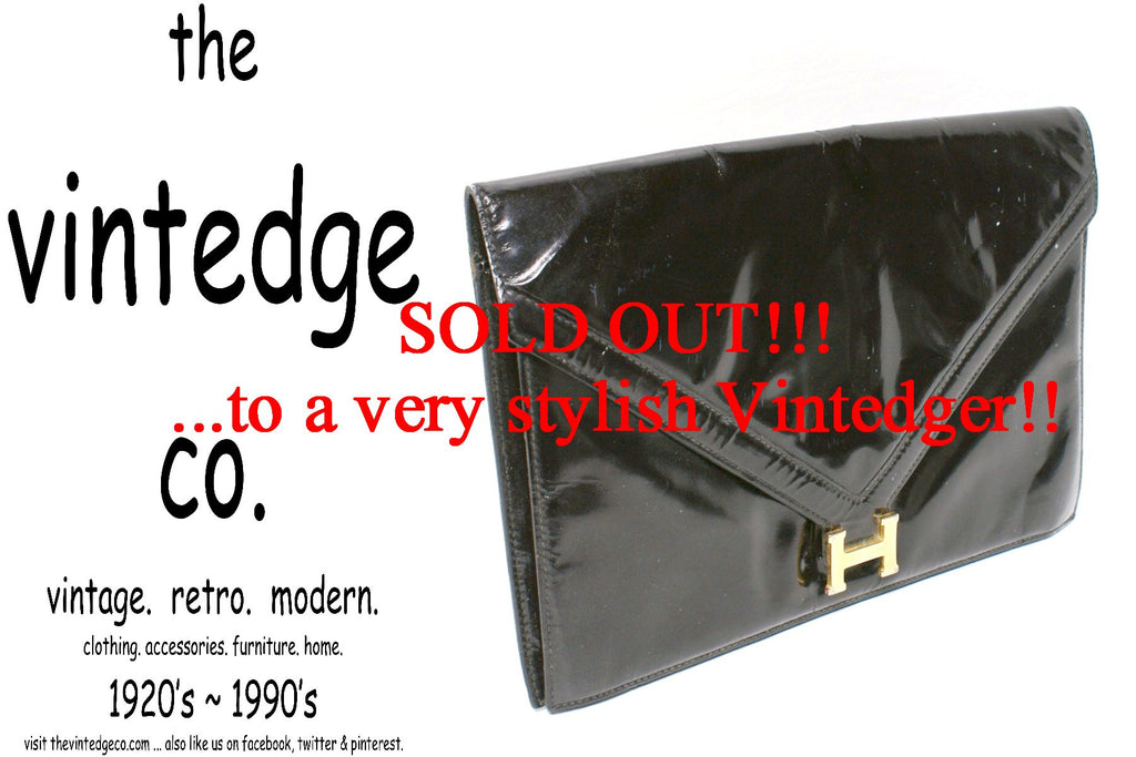 SOLD -  Vintage Hermes Clutch