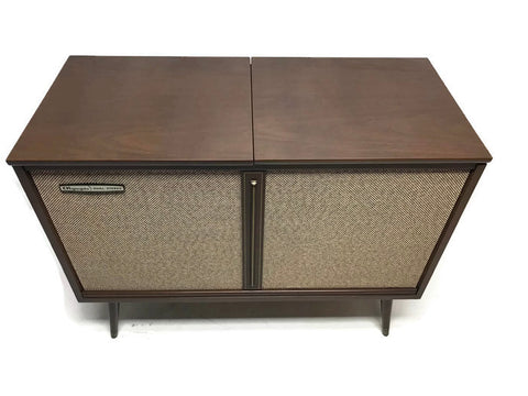 **SOLD OUT** OLYMPIC 60s Vintage Mid Century Record Player Changer Console Bluetooth
