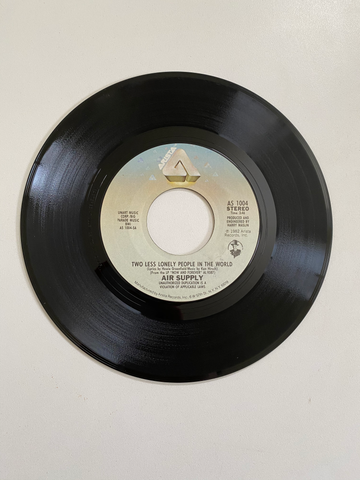 Air Supply - Two Less Lonely People In The World | 45