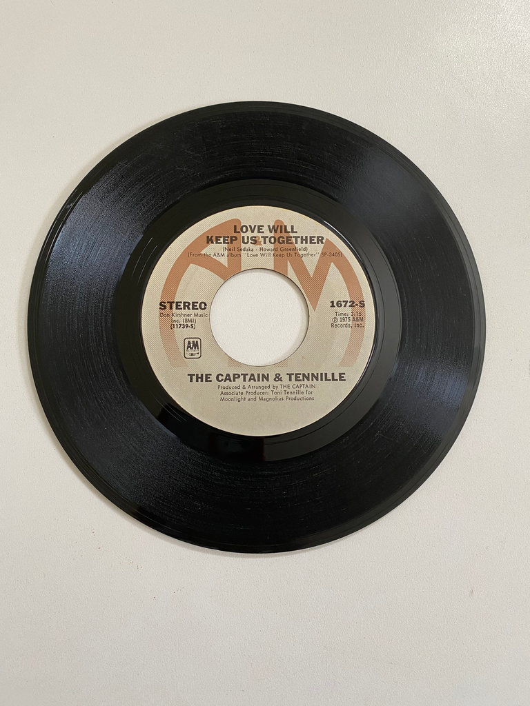 Captain & Tennille, The - Love Will Keep Us Together | 45