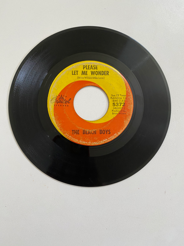 Beach Boys, The - Please Let Me Wonder | 45