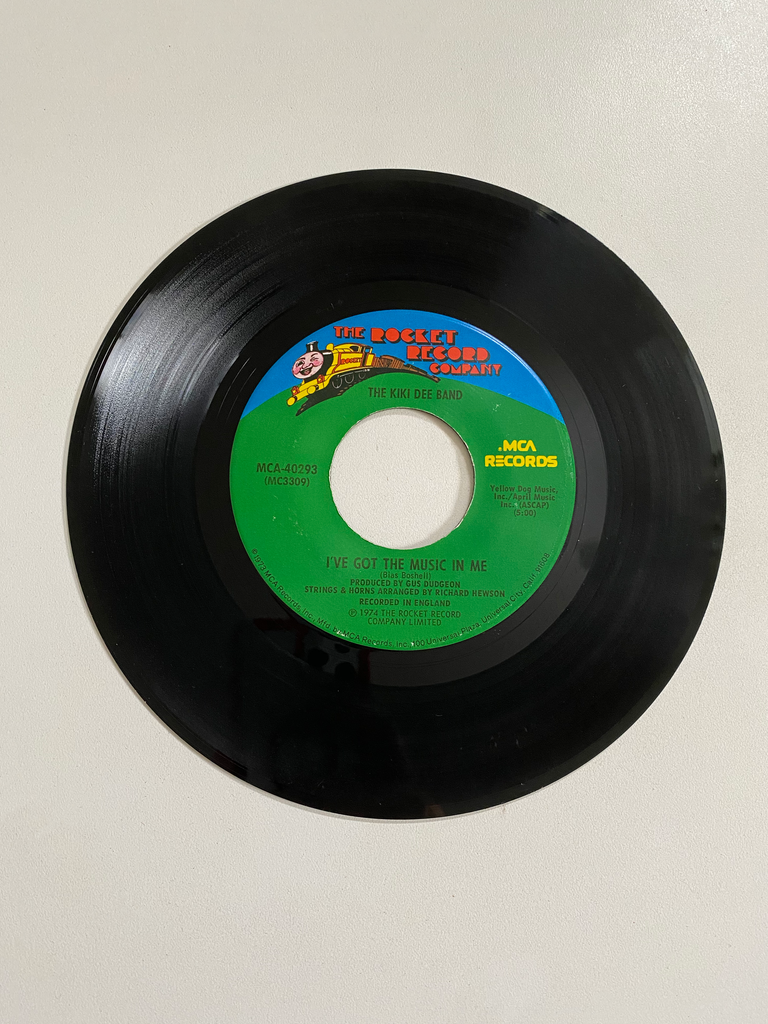 Kiki Dee Band, The - I've Got The Music In Me | 45